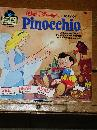 Disney's Pinocchio book and 33 1/3 record set