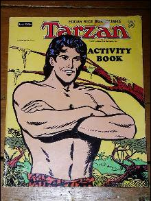 Tarzan Activity Book