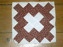 Quilt blocks, 1860, Album blocks -  QB