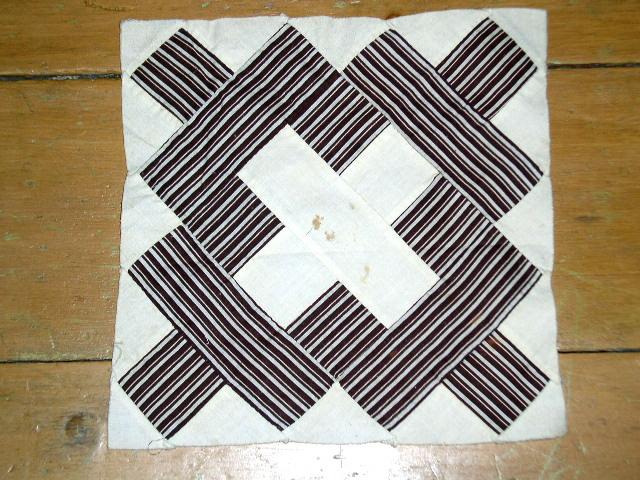 Quilt blocks, 1860, Album blocks -  QB