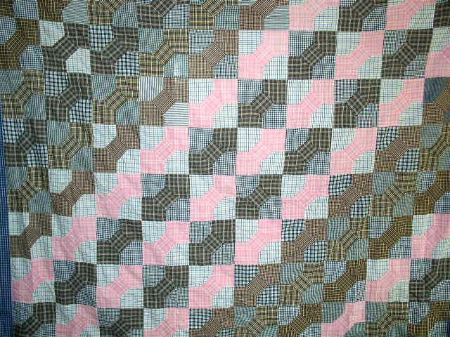 Quilt Top, Bow Tie, 1900 -  QTP