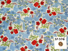 Vintage Feedsack Fabric -  FSK