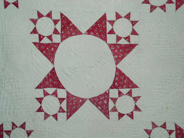 8 Pointed Star Pattern Quilt -  QLT