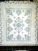 Cross Stitched Quilt -  QLT