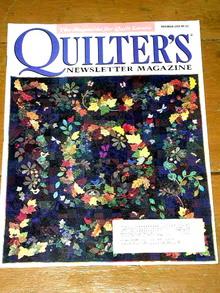 Quilter's Newsletter Magazine, Vol #317  -  QM