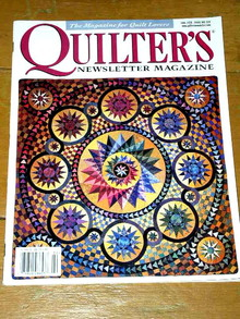 Quilter's Newsletter Magazine, Vol #319  -  QM
