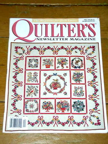 Quilter's Newsletter Magazine, Vol #321  -  QM