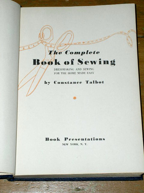 The Complete Book of Sewing