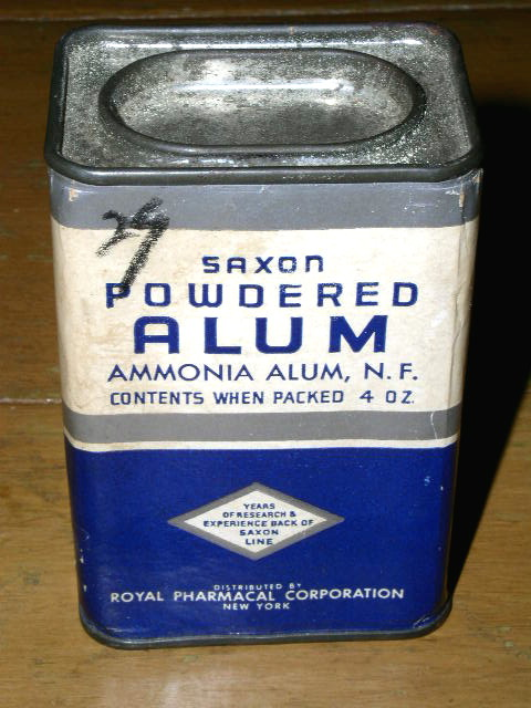 Saxon Powdered Alum