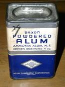 Saxon Powdered Alum