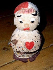 Doll Pincushion