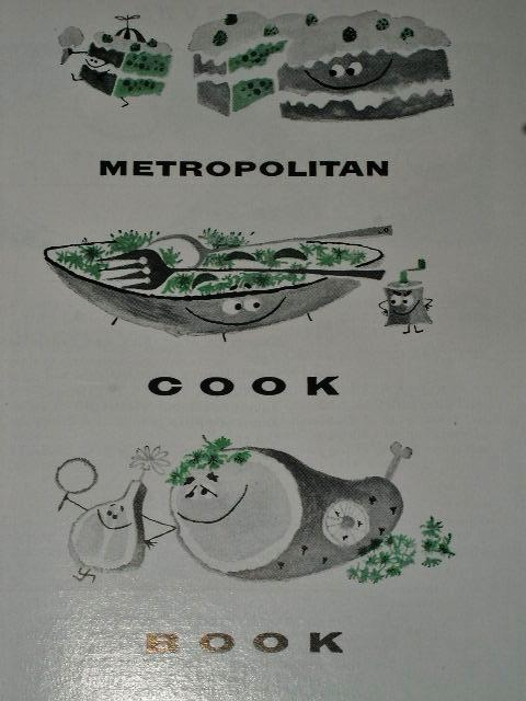 Metropolitan Life Cook Book 1957   - CK