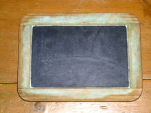 Small Black Slate Board