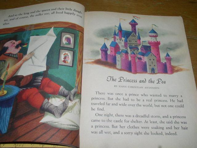 The Red Little Golden Book of Fairy Tales, #306, First Printing.