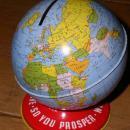 Ohio Art Globe Bank