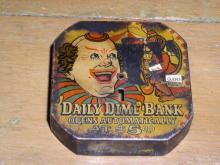 Daily Dime Bank - Carnival Theme