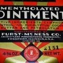 McMess Mentholated Ointment Tin