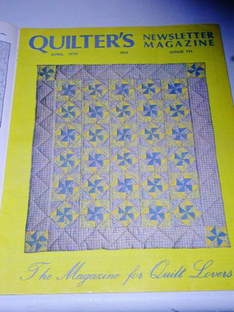 Quilter's Newsletter Magazine #111,  - QM