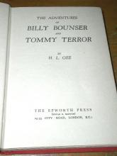 The Adventures of Billy Bounser and Tommy Terror  -  SALE ITEM
