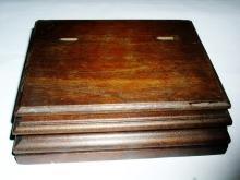 Walnut Hankie Box