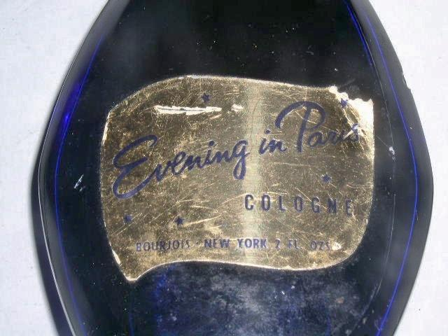 Evening In Paris Cologne in Cobalt Bottle