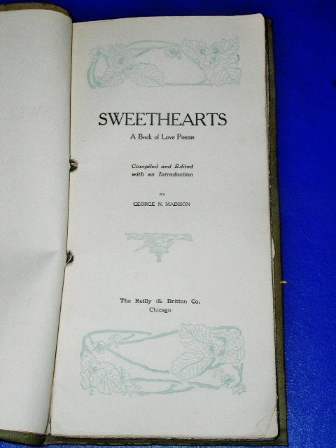 Sweethearts, A Book of Love Poems