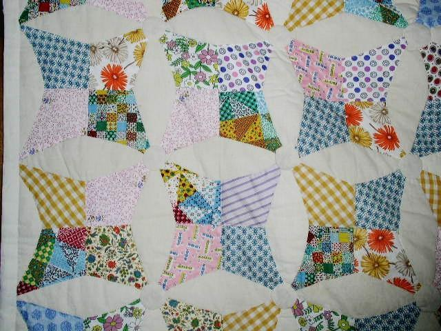 Ladies Star Variation Quilt  -  QLT
