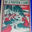 Outdoor Girls In A Winter Camp