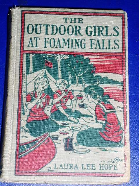 Outdoor Girls At Foaming Falls