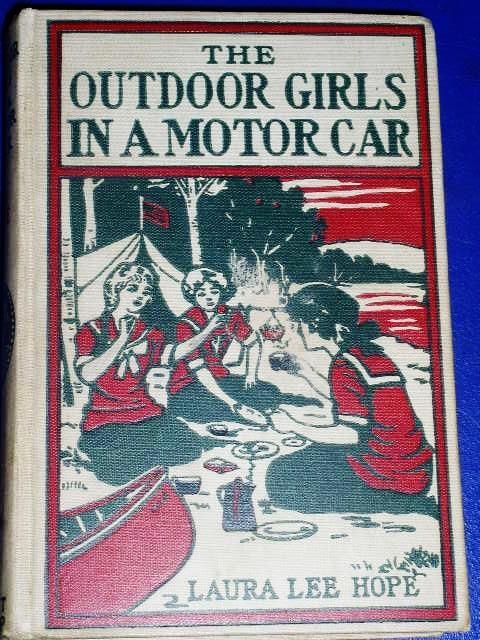 Outdoor Girls In A Motor Car