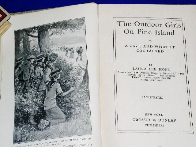 Outdoor Girls On Pine Island, First Edition