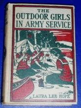 Outdoor Girls In Army Service, First Edition