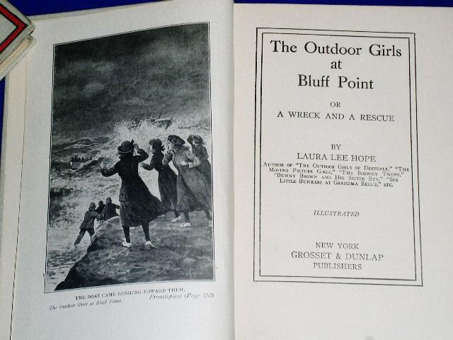 Outdoor Girls At Bluff Point, First Edition