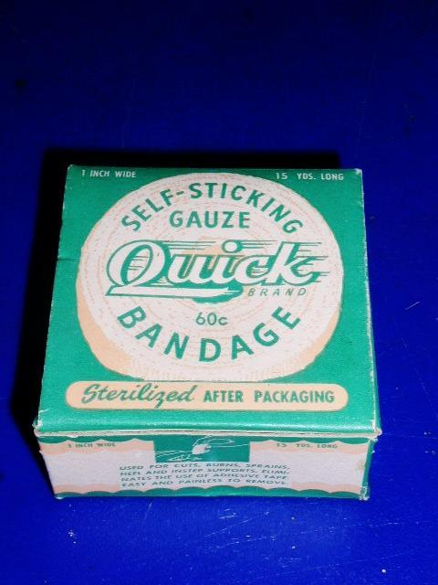 Quick Brand Gauze Bandage Package