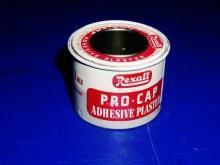 Rexall Pro-Cap Adhesive Plaster Tin