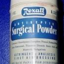 Rexall Surgical Powder Tin