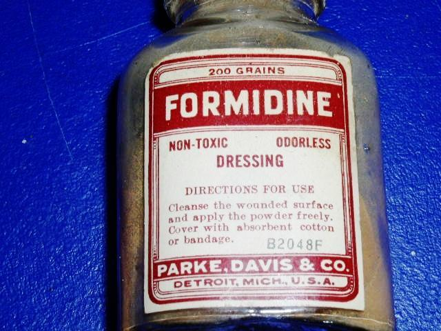 Formidine Dressing Bottle
