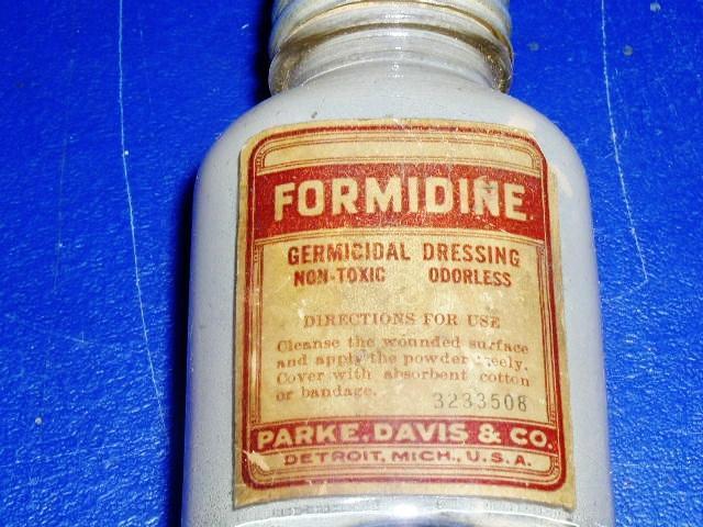 Formidine Dressing Bottle