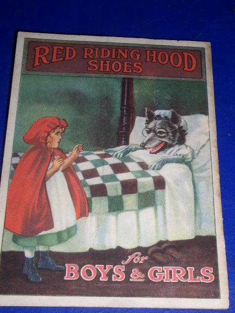 Red Riding Hood Shoes Advertising & Story Booklet