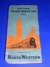1933 Chicago World's Fair Souvenir Notebook