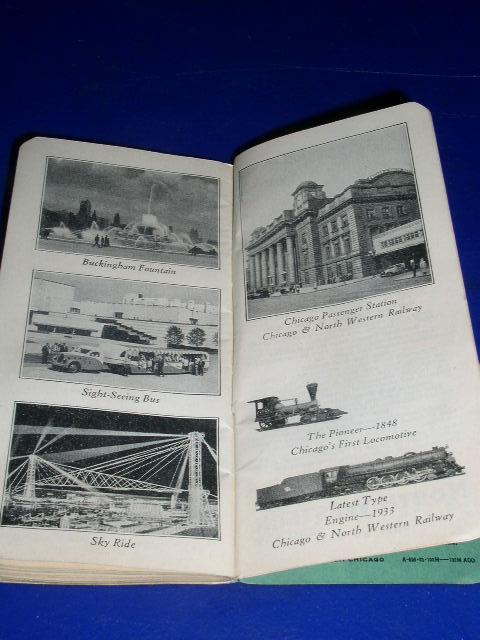 1933 Chicago World's Fair Souvenir Notebook