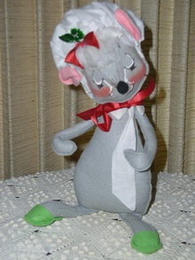 Annalee Doll - Christmas Mouse