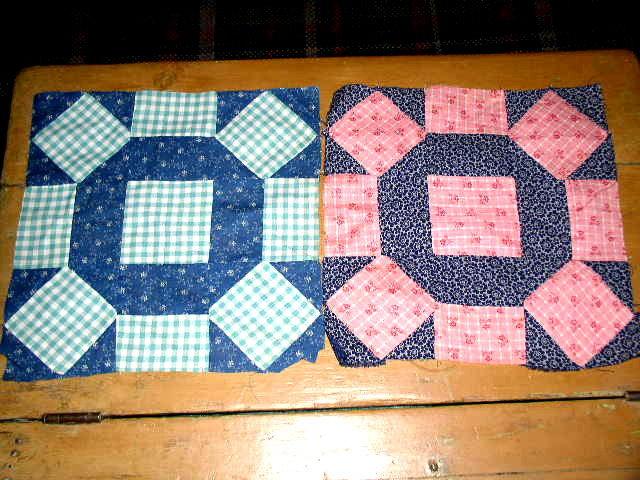 Rolling Blocks Quilt Blocks -  QB