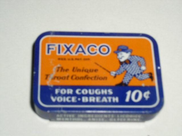 Fixaco Throat Confection Tin