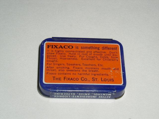 Fixaco Throat Confection Tin