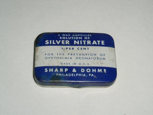 Silver Nitrate Ampoules Tin