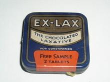 Ex-Lax Laxative, Free Sample Tin