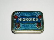 Nigroids Throat Lozenges Pocket Tin