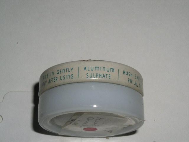 Hush Check Deodorant Cream Jar