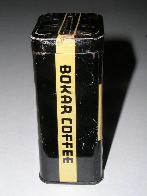 Bokar Coffee Tin Bank
